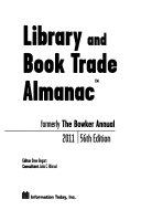 Library And Book Trade Almanac 2011 book