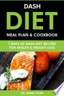 Dash Diet Meal Plan Cookbook