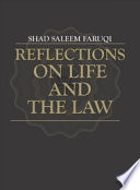 Reflections on Life and the Law  Penerbit USM