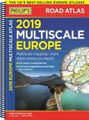 Europe   Philip s 2019 Multiscale Road Atlas