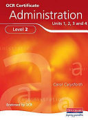 OCR Certificate in Administration Level 2 Student Book