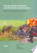 The Governance of Nature and the Nature of Governance