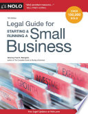 Legal Guide for Starting & Running a Small Business Free download PDF and Read online