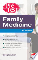 Family Medicine PreTest Self Assessment And Review  Third Edition