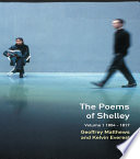 The Poems of Shelley  Volume One