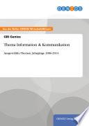Thema Information & Kommunikation
