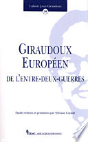 Giraudoux européen de l'entre-deux-guerres