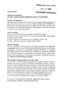 JOURNAL OF ECONOMETRICS