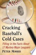 Cracking BaseballÕs Cold Cases Pdf/ePub eBook