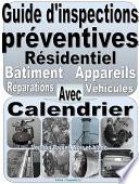 Guide d   inspections pr  ventives  R  sidentiel  Appareils  b  timent  v  hicules