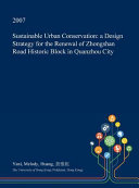 Sustainable Urban Conservation