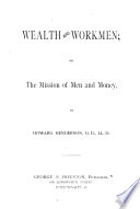 Wealth and Workmen Book PDF