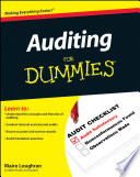 Auditing For Dummies Want To Be An Auditor