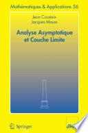 illustration Analyse asymptotique et couche limite