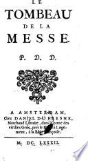 Le Tombeau De La Messe