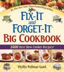Fix-It and Forget-It Big Cookbook Book