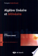 illustration Algèbre linéaire et bilinéaire