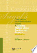 Siegel s Corporations