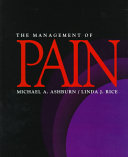 The Management Of Pain