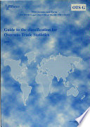 Guide to the classification for overseas trade statistics 2004