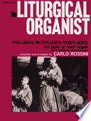 Ebook The Liturgical Organist Epub Carlo Rossini Apps Read Mobile