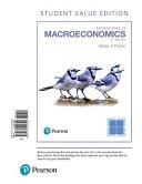 Foundations of Macroeconomics  Student Value Edition