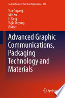 Advanced Graphic Communications  Packaging Technology and Materials