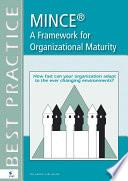 MINCE     A Framework for Organizational Maturity