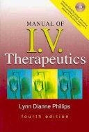 Manual of I  V  Therapeutics   Teacher s Edition