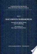 Documenta Barbarorum