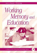 Working Memory And Education book