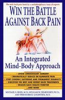 Win The Battle Against Back Pain
