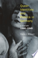 Queer Identities and Politics in Germany