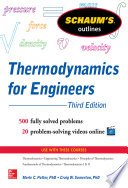 Schaums Outline of Thermodynamics for Engineers  3rd Edition