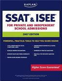 Kaplan SSAT   ISEE 2007 Edition