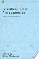 Critical Realism in Economics