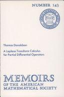 A Laplace Transform Calculus for Partial Differential Operators
