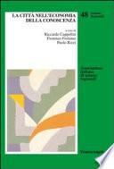 La citt   nell economia della conoscenza