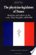 The Physician Legislators of France