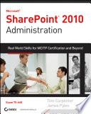 Microsoft SharePoint 2010 Administration