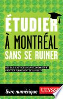 Etudier à Montréal sans ruiner