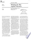 Winning the War Against Narcotics Book PDF