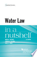 Water Law in a Nutshell  5th