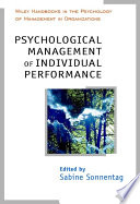 Psychological Management Of Individual Performance
