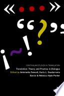 Translation  Theory and Practice in Dialogue