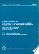 Conservation Of The Genetic Resources Of Fish book