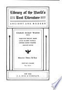 Library of the World s Best Literature  Ancient and Modern  Guide to systematic readings