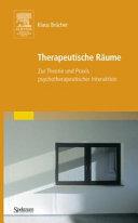 Therapeutische Räume
