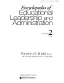 Encyclopedia of Educational Leadership and Administration  L Z