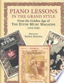 Piano lessons in the grand style